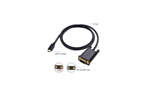USB C to Serial Adapter - NOT VGA